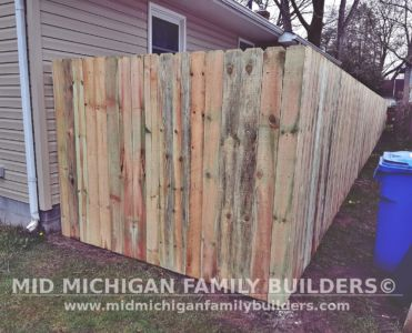 Mid Michigan family Builders Fence Project 05 2020 01 02